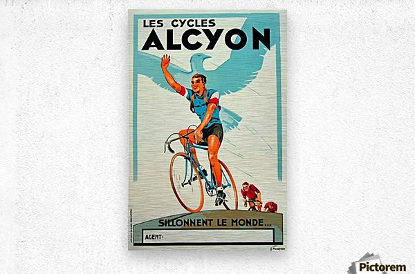 Alcyon Cycles  Metal print