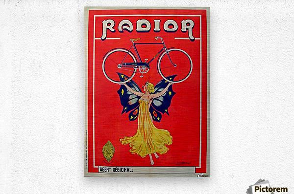 Radior  Metal print