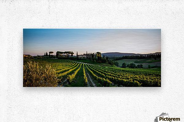 Tuscany Mormoraia  Metal print