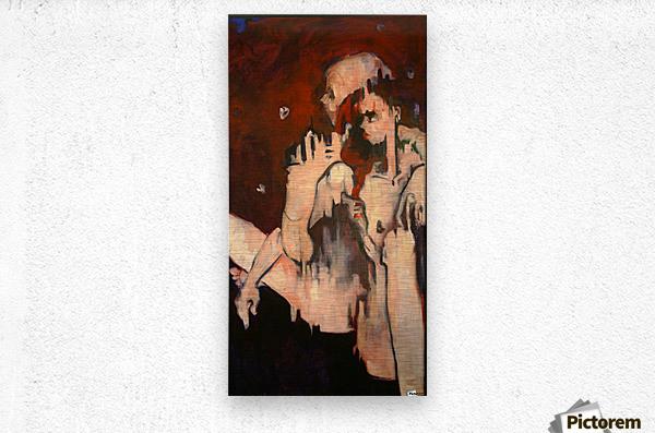 Sonny & Clay  Metal print