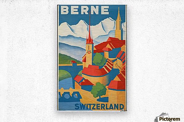Berne Switzerland  Metal print