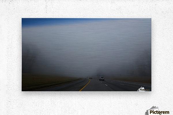 Misty Fog  Metal print