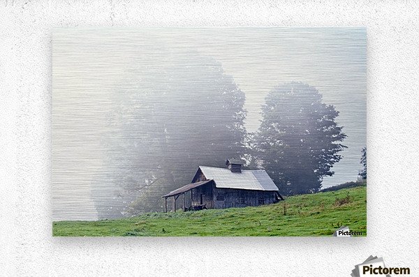 House Near Peacham, Vermont, Usa  Metal print