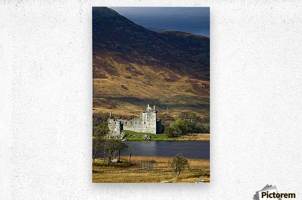 Kilchurn Castle, Scotland  Metal print
