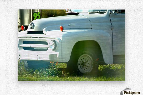 Old Truck 2  Impression metal
