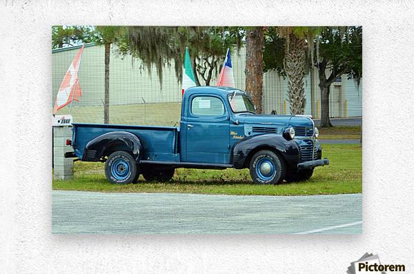 Old Truck  Impression metal