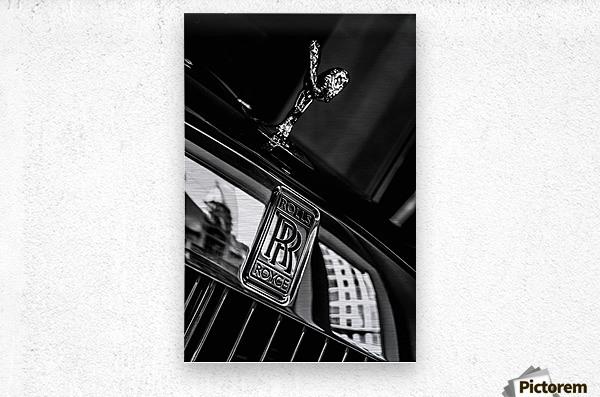 Rolls Emblem  Metal print