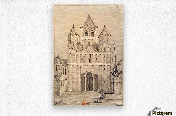 Eglise de Marrmoutier  Metal print