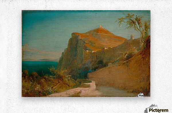 Tiberiusfelsen auf Capri  Metal print