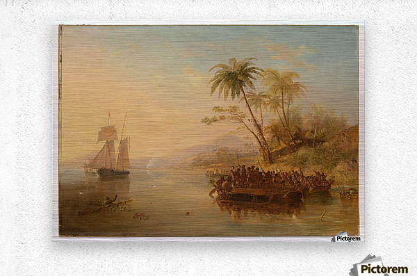 The Rescue Of William Doyly  Metal print