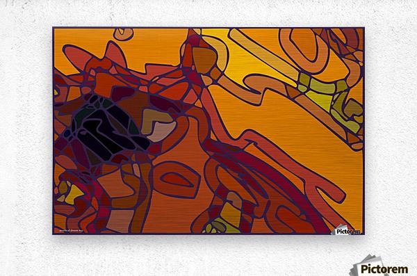 practical dream 43  Metal print