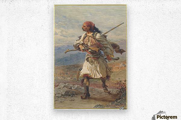 Greek Warrior  Impression metal
