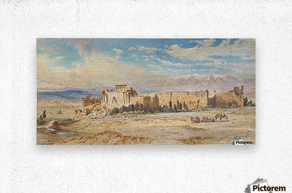 Ruines de Baalbeck  Metal print