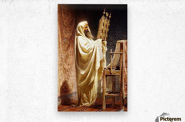 The High Priest of the Samarian  Metal print