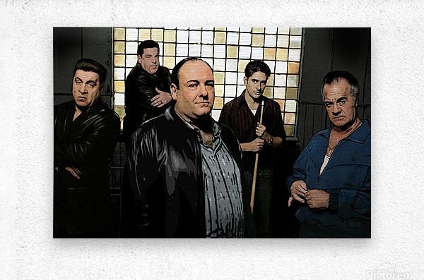 The Sopranos   Metal print