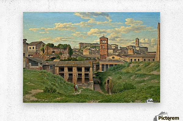 View of the Cloaca Maxima, Rome  Metal print