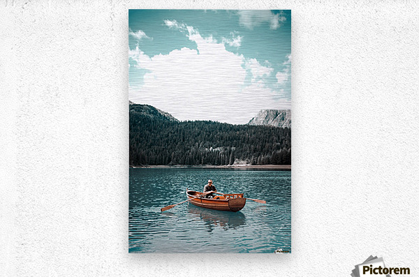 Lonely hour   Metal print