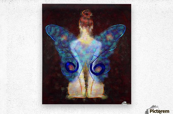 Elseminossa - butterfly beauty  Metal print