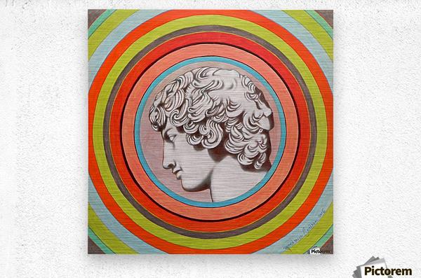 Antinoo Farnese  Metal print