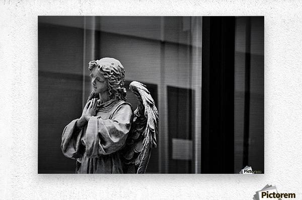 Angel in the Window  Metal print