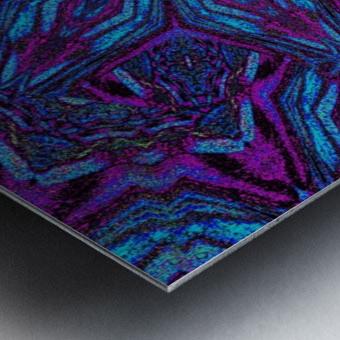 Crystal Flower 3 Metal print