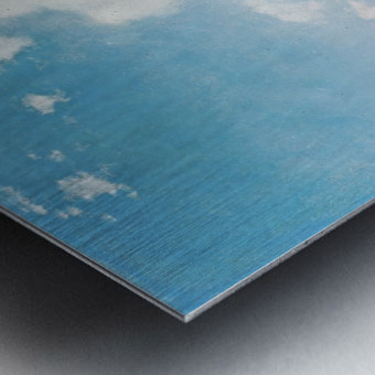 Sunny day on Naples Bay Metal print