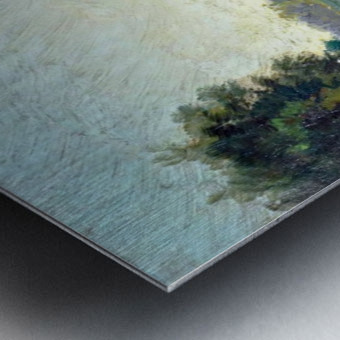 Canale a Saint Martin a Chalons Metal print