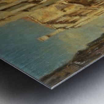 Shining morning in Venice Metal print
