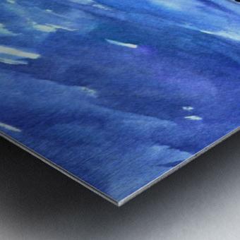 morning landscape 2 Metal print
