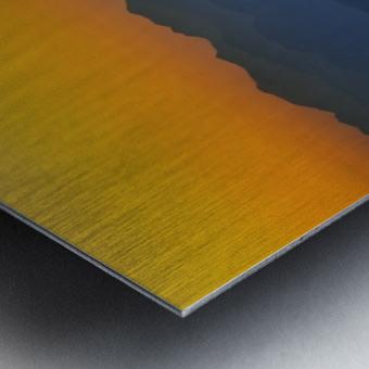 Layer of dawn Metal print