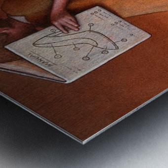 Manual Metal print