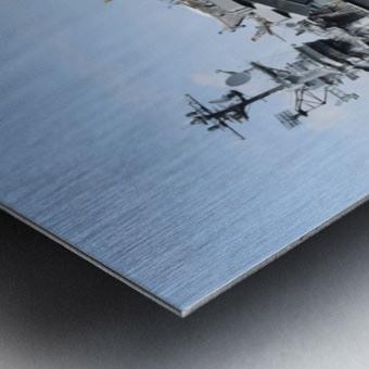 THE INTREPID, NEW YORK Metal print