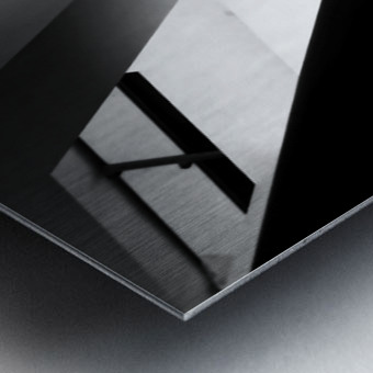 Light and shadow play Metal print