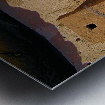 Montezuma's Castle-4 Impression metal
