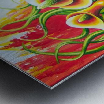 Fall for callas Metal print