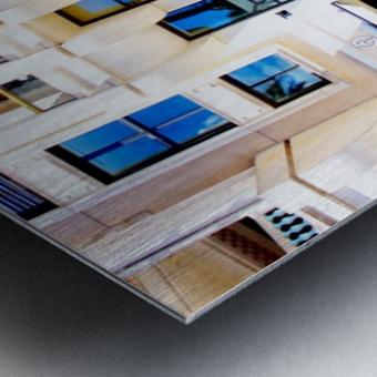 Pyramid Design Metal print