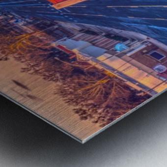 Lonoke, AR   Red Oak  Metal print