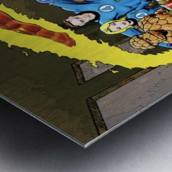 Marvel Superheroes: Stan Lee's Super Supper with Avengers, Fantastic Four, X-Men, Spider-Man & More Metal print
