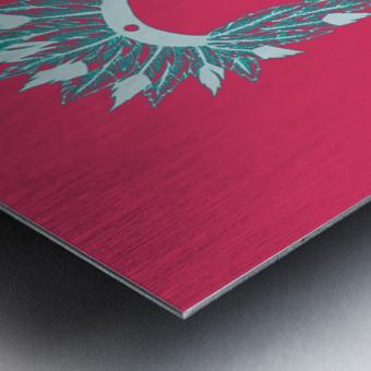 COIFFE D INDIEN Metal print
