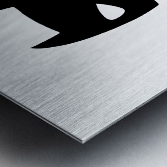BATCHILD Metal print