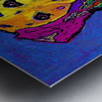 RAINBOW DALMATION  Metal print