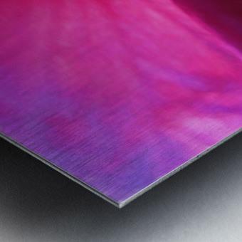 Pistil wave Metal print