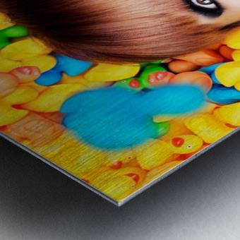 Duckfaceicon Metal print
