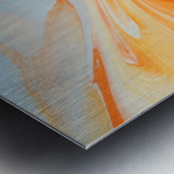 FIRESPEAR Metal print