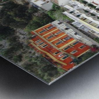 Houses at Amalfi Town - Italy Metal print