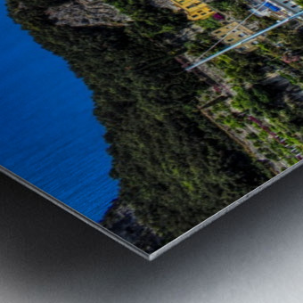 Amalfi Coast Panoramic View Metal print