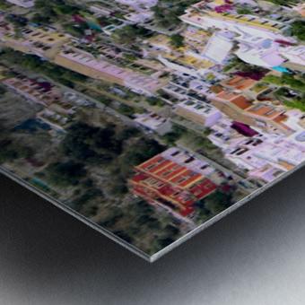 Aerial view of Positano Beach - Italy Metal print