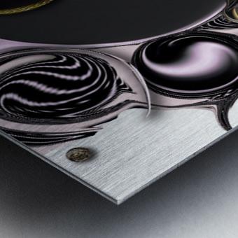 Reflecting Creation Metal print
