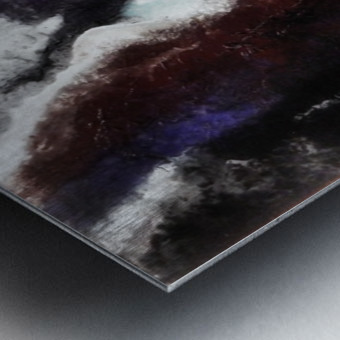 Odyssey Abstract Artwork Metal print