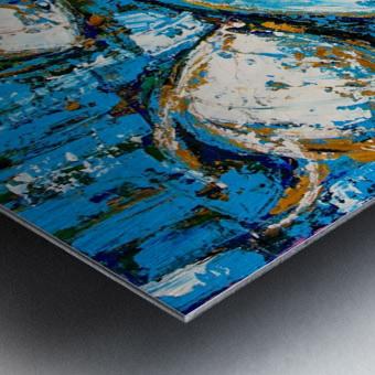 Flow Of Dreams-2 - 18 inch x 18  Metal print